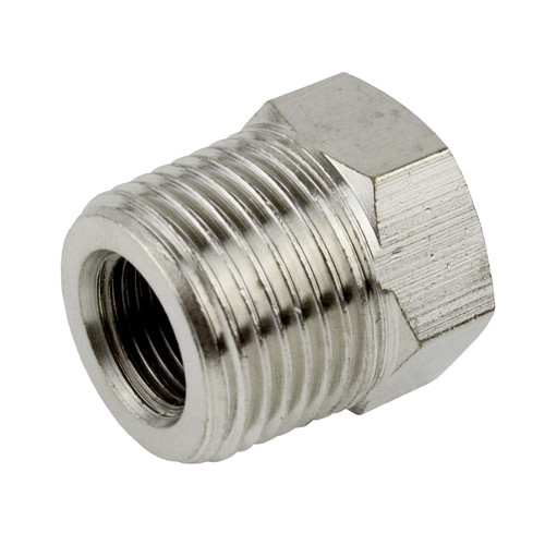 "1/2"" BSP Male to 1/4"" BSP Female Threaded Adapter Hex Bush Air Fitting FT047"