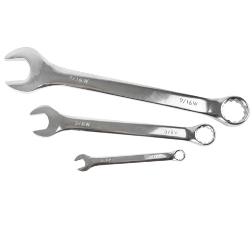 8pc Whitworth Spanner Set by Silverline SIL8