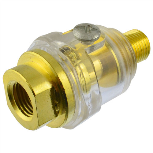 "In line Air Tool Oiler Lubricator 6mm 1/4"" BSP SIL90"