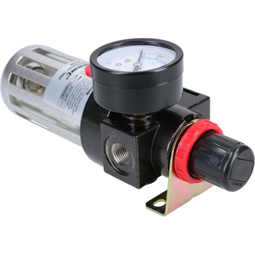 Air Line Pressure Regulator Water Trap 1/4 inch BSP Air Compressor Sil110