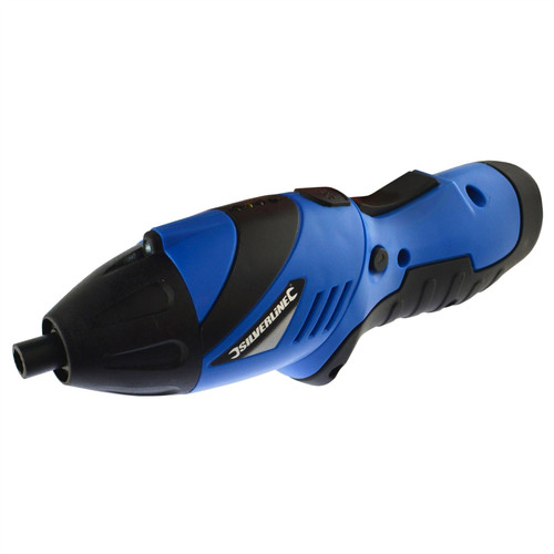 """Mini Electric Screwdriver Cordless Hand Drill 3.6V Rechargeable 1/4"""" Bit SIL311"""