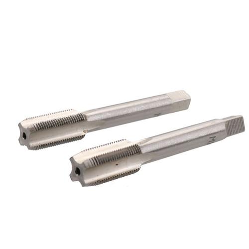 M10 x 0.75mm Metric Tap Set, Tungsten Steel, Taper and Plug Thread Cutter TD021