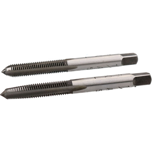 """1/4"""" x 28 UNF Imperial Tungsten Steel Taper and Plug Set TD094"""