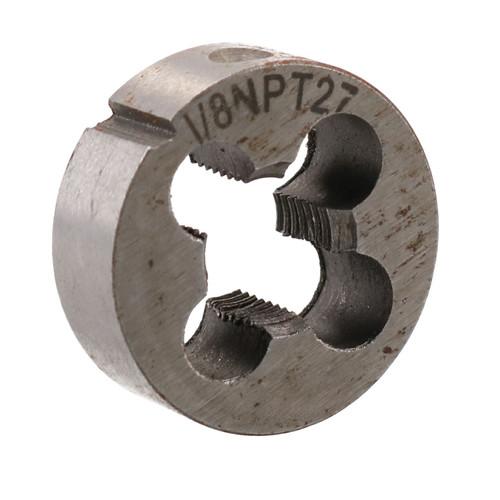 """1/8"""" x 27 NPT Imperial Die Nut 1"""" (25mm) Tungsten Steel TD106"""