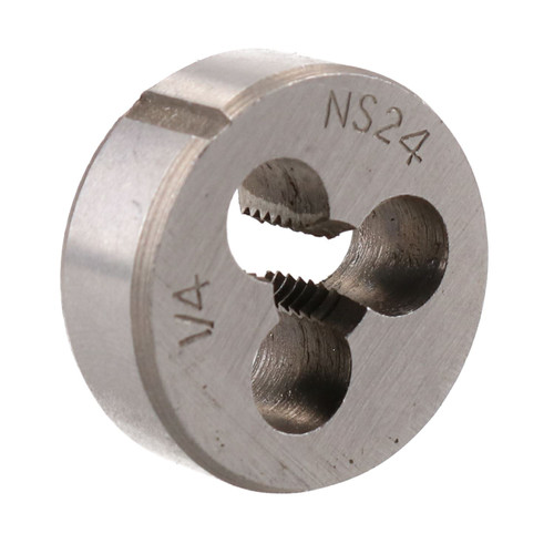 "1/4"" x 24 UNS Unified Imperial Die Nut 1"" (25mm) Tungsten Steel TD120"