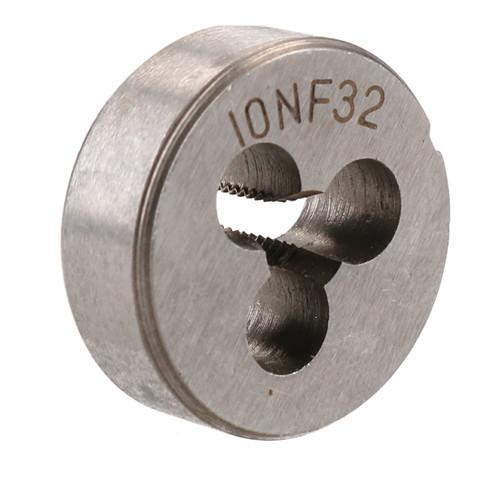 """10 x 32 UNF Imperial Die Nut 1"""" (25mm) Tungsten Steel TD123"""