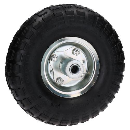 """2 x 10"""" Pneumatic Sack Truck / Trolley / Garden Cart Wheels 4.10/3.50 - 4"""