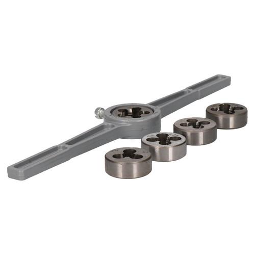6pc Metric Die Set With Holder / Wrench M6 - M12 Thread Repair Kit TE577