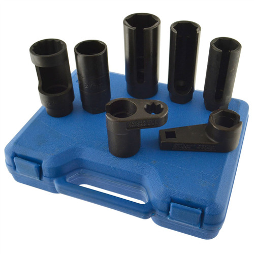 16mm Flexible Socket Joint Swivel TE911 AB Tools-Toolzone 3//8 Dr Glow Plug 6pc Socket Set 8mm