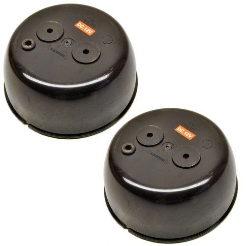 Round LED Trailer / Truck Light / Lamp with Backing Cup PAIR TR121_TR120