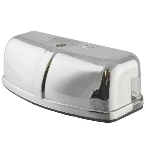 Number Plate Light / Lamp CHROME for Trailer, Caravan, Classic Car TR187