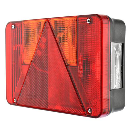 Trailer Light Radex Left Hand for Ifor Williams & Indespension Lamp TR209