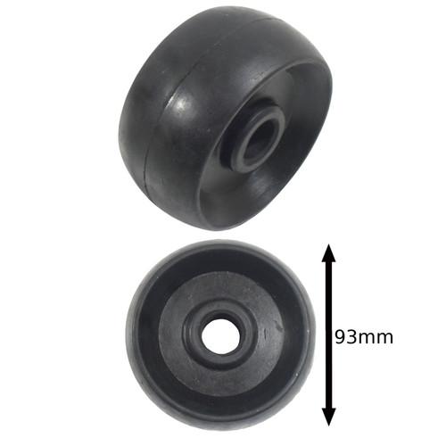 Boat / Jetski / Dinghy Trailer Single Roller Rubber 19.5mm Bore UBR33