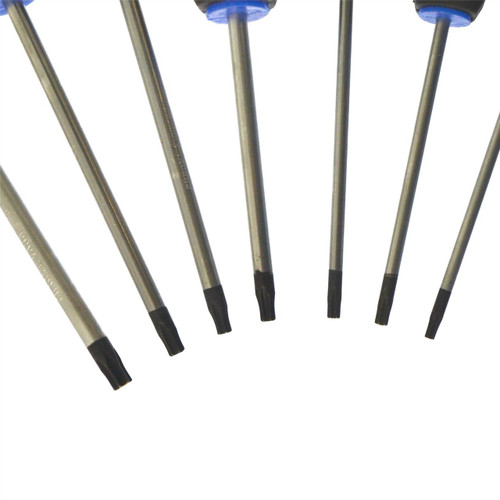 7pc Torx screwdriver set T10 - T30 with cushioned grip by BERGEN AT197