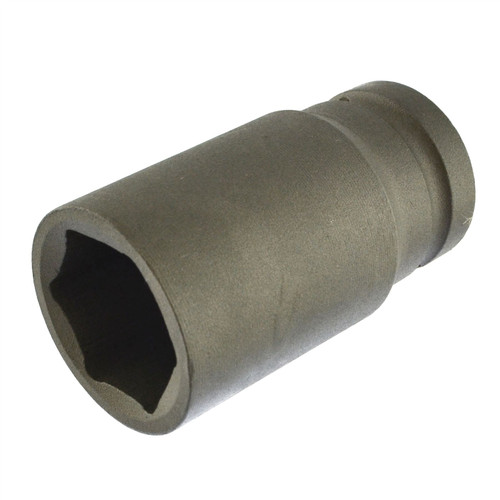 30mm Metric 3/4 Drive Double Deep Impact Socket 6 Sided Single Hex Thick Walled