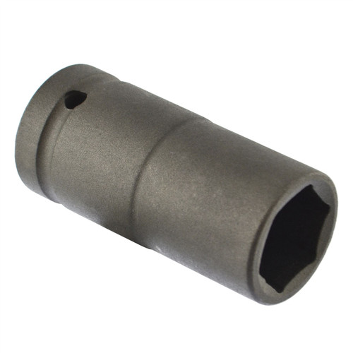 24mm Metric 3/4 Drive Double Deep Impact Socket 6 Sided Single Hex Thick Walled