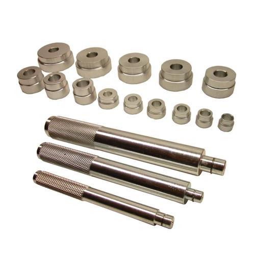 Bearing race seal bush driver set / tool / kit aluminium mm 18pc by BERGEN AT237