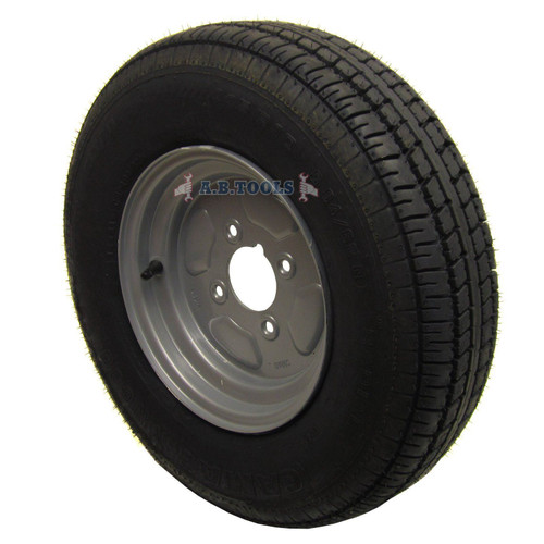 "750kg Trailer Suspension Units Wheels Tyre 145 x 10"" 4PLY 4""PCD 4 Stud Hub Bearing"