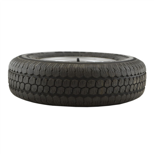 "145 R10 Mini Wheel Rim Tyre 4PLY 4 Stud 23.5mm Offset 4"" PCD 74N TRSP15"