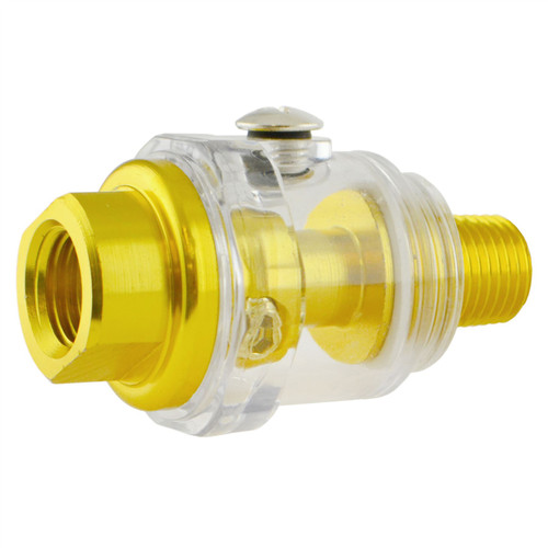 1/4'' BSP Mini In Line Oiler Air Tool Oiler Lubricator Compressor Pipe Oil TE843