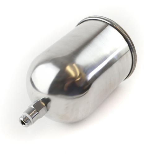 600cc HVLP Aluminium Cup Spray Gun M16 x 1.5mm Gravity Air Paint Can TE898