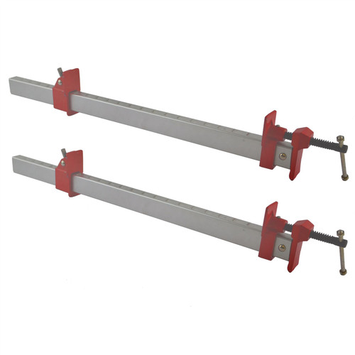 "24"" (600mm) Aluminium Sash Clamp Grip Bench Work Holder Vice Slide Cramp x 2"