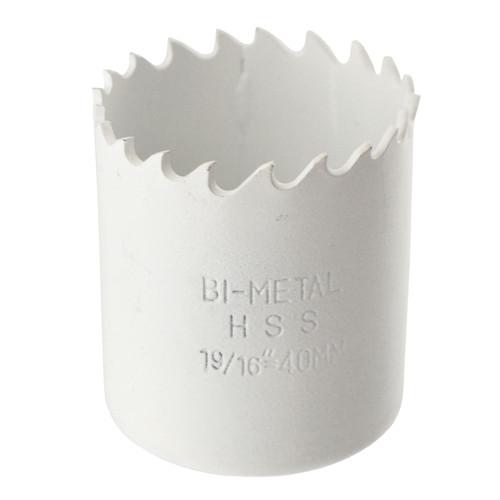 40mm HSS Hole Saw Bi-Metal Blade Cutter Drill Cuts Steel / Iron etc.