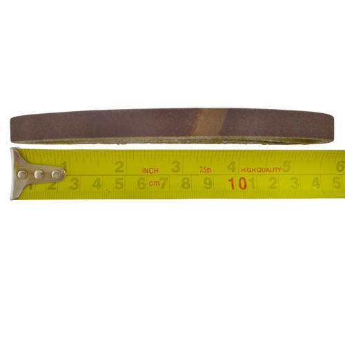 Belt Power Finger File Sander Abrasive Sanding Belts 330mm x 10mm 120 Grit 20 PK