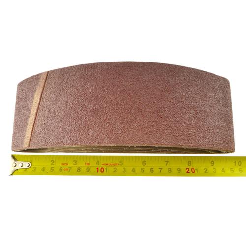 Belt Power Finger File Sander Abrasive Sanding Belts 533mm x 75mm 60 Grit 10 PK