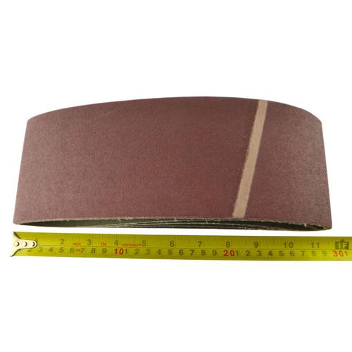 Belt Power Finger File Sander Abrasive Sanding Belts 610mm x 100mm 120 Grit 5 PK