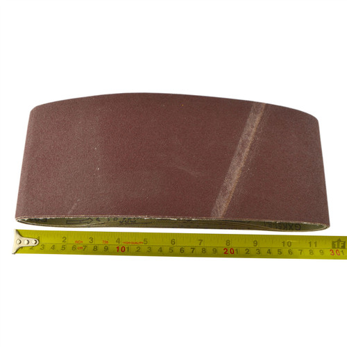 Belt Power Finger File Sander Abrasive Sanding Belts 610mm x 100mm 80 Grit 10 PK