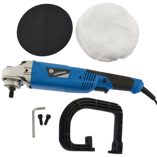 180mm Machine Polisher 1200W Electric Variable Speed Rotary Car Buffer Mop Kit