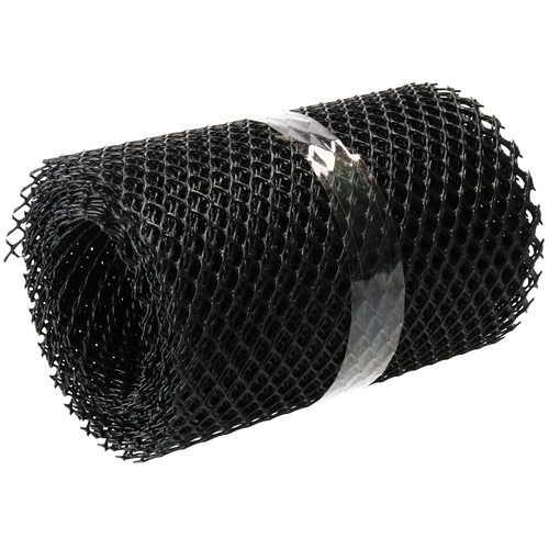Gutter Guard Cover 5m x 160mm Hand Tools Leaves Blocking Drains Mesh SIL343