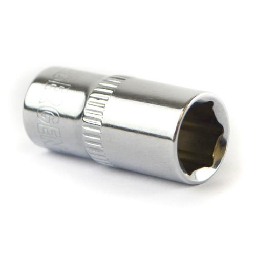 "8mm 1/4"" Drive Shallow Metric Socket Single Hex / 6 sided Bergen"