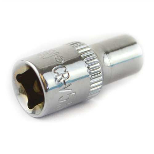 "5.5mm 1/4"" Drive Shallow Metric Socket Single Hex / 6 sided Bergen"