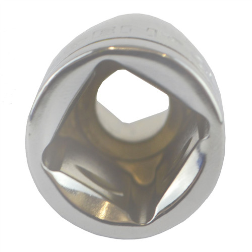 "10mm 1/2"" Drive Shallow Metric Socket Single Hex / 6 sided Bergen"