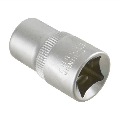 "13mm 1/2"" Dr Socket Super Lock Metric Shallow CRV Knurl Grip 6 Point TE800"