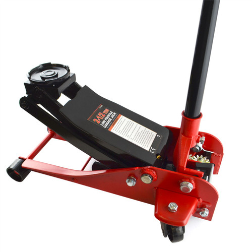 2.5 Ton Low Profile Trolley Jack Steel Car Lift 85 - 445mm Racing Sport Cars TE868