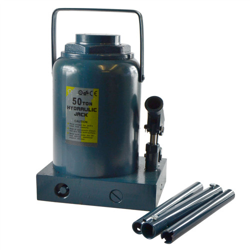 AB Tools-Toolzone 5 Ton Ram For Engine Crane Hydraulic Ram Hoist Cylinder Jack Engine Lift