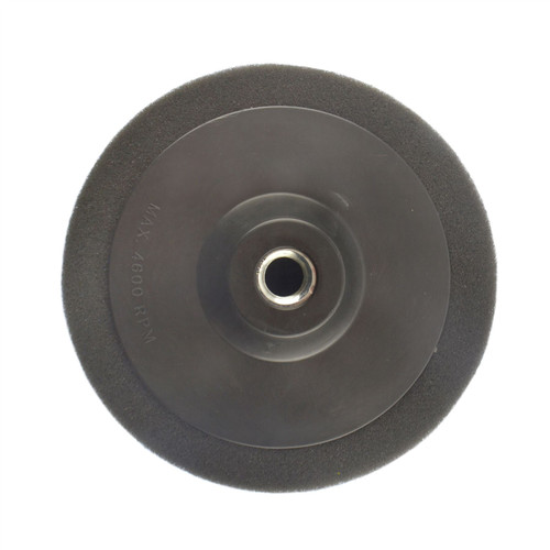 150mm M14 Thread Black Polishing Mop Sponge Buffing Wheel Polisher SIL329