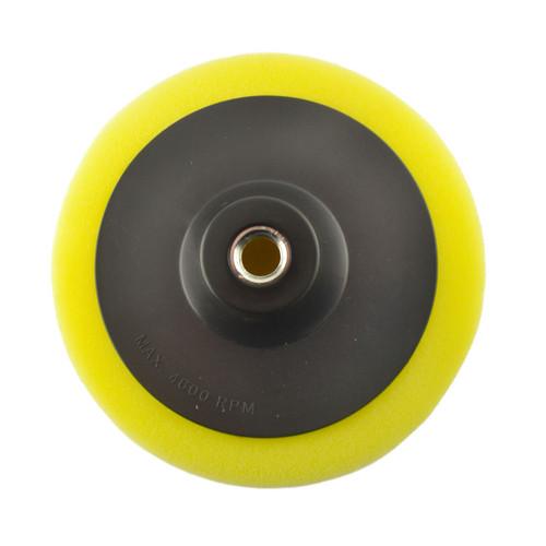 150mm M14 Thread Yellow Polishing Mop Sponge Buffing Wheel Polisher SIL328