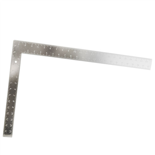 Aluminium Roofing Framing Square measure rafter rule pitch 24 x 16 Metric /& Imperial