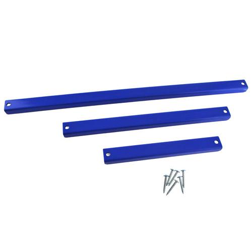 """3pc Magnetic 8/12/18"""" Strip Rail Bar Rack Holder Spanner Wrench Socket TE895"""