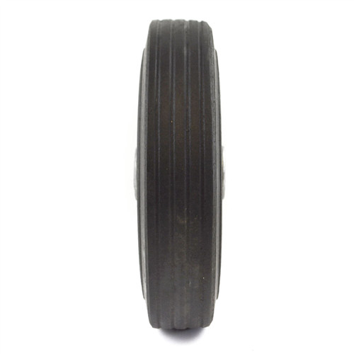 """8"""" (200mm) Steel Replacement Jockey Wheel Tyre Tire Trailer 19mm Bore TE929"""