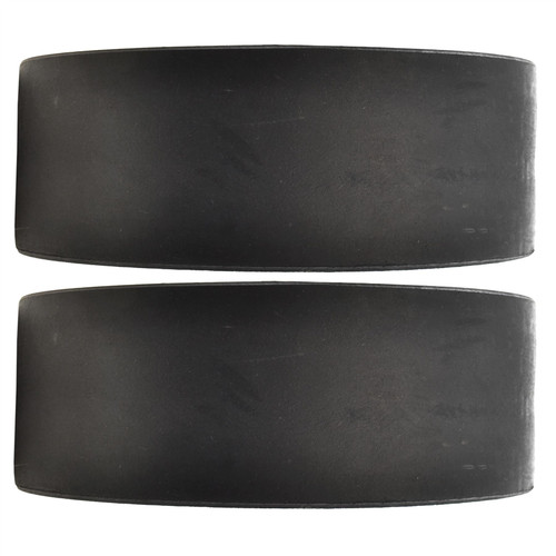 """Dinghy Boat Launch Trolley Wheels 10"""" Sand Hopper Solid Rubber Tyre x 2 (Pair)"""