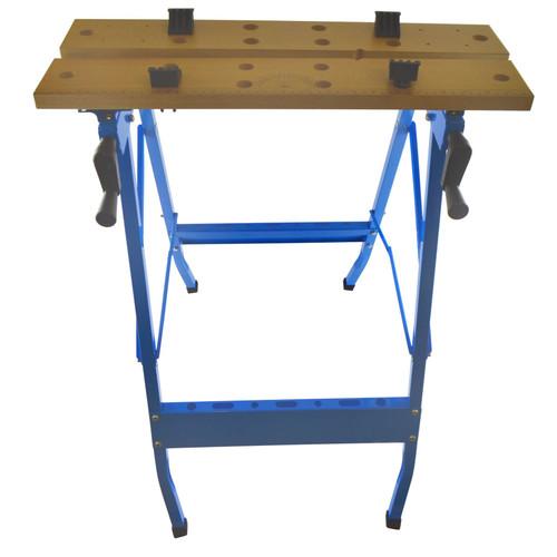Work Bench Portable Worktop Wood Working Folding 100kg Workhorse SIL224