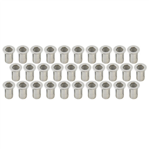 6mm Alu Nut Serts Riveting Nuts Rivet Nut Threaded Inserts Blindnut Rivnut 30 PC