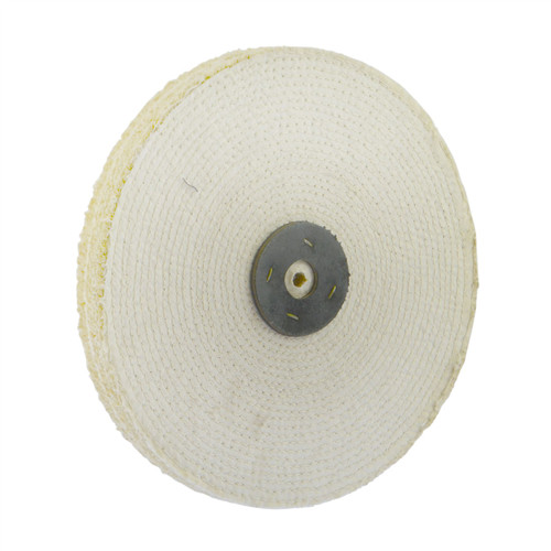 """Coarse Sisal Fast Cut Buffing Polishing Mop 8/"""" x 0.5/"""" 1 Row With Compound 250g"""
