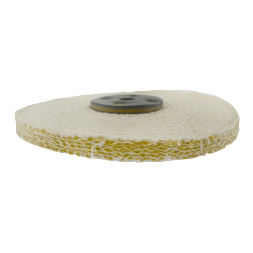 "Coarse Sisal Fast Cut Buffing Polishing Mop 6"" x 0.5"" 1 Row With Compound 250g"