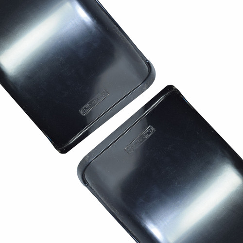"Trailer Twin Axle Tandem Mudguard Wing Fender 15"" / 16"" Wheels 69"" x 8"" Pair"